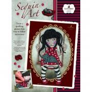 Flitteres Képkészítő - Sequin Art - Gorjuss - Ruby