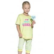 Bianka gyermek pamut pizsama felirattal 122