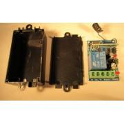 Interruptor/relé accionable de forma inalámbrica por mando RC-80...