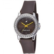 Fastrack Analog Brown Dial Womens Watch-9827Pp17J
