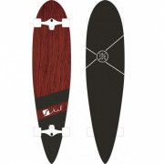 STUF - longboard LONG BEACH wood Velikost: UNI