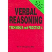 Verbal Reasoning: Technique and Practice No. 4 by Susan J. Daughtrey
