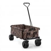 Waldbeck комуфлажна, ръчна количка, сгъваема, 70 kg, 90 l, колело Ø10 cm (WGO-The-Camou)