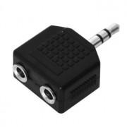 Jack 3.5 / 2 x Jack 3.5 eloszto adapter