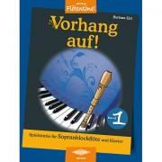 Holzschuh Jede Menge Flötentöne Vorhang auf! Bd.1 Notenbuch