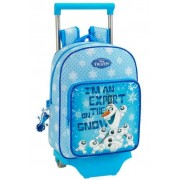 Disney Rucsac trolley junior Olaf bleu 34 x 26 x 11 cm