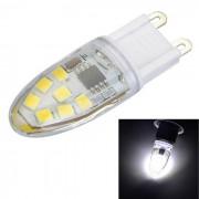 G9 regulable 3W 14-LED bombilla blanca fria - blanco + amarillo