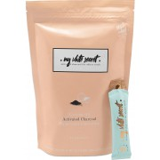 My White Secret Activated charcoal and coconut oil 14 sachet pack 140 ml