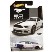 Hot Wheels '13 Ford Mustang 50 years new and rare hard to find item 08/08