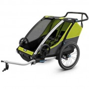 Thule Remolques y carritos Thule Chariot Cab 2 Lime / Black