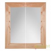 Set 2 oglinzi mari cu rama din lemn mindi VANNES 150x180cm 21503 VH