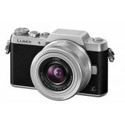 Panasonic Lumix DMC-GF7 Kit schwarz/silber + H-FS 12-32 mm