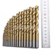 ELECTROPRIME® 19Pcs HSS Steel Twist Drill Bit Drills Bits Precision DIY Tools 1.5mm-10mm