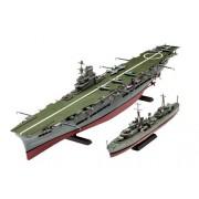 Revell of Germany Hms Ark Royal & Tribal Destroyer Hobby Model Kit