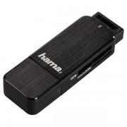 Card reader Hama 123901 USB 3.0 SD / microSD Black