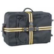 Korjo Luggage Straps - Crossed(Black)