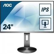 AOC »I2490PXQU/BT« lcd-monitor (23,8 inch, 1920x1080 pixels, Full HD, 4 ms reactietijd, 60 Hz) - 164.05 - zwart