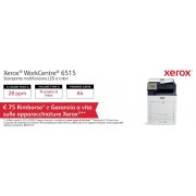 XEROX Stampante Multifunzione WorkCentre 6515N a Colori Stampa Copia Scansione Fax 28 Ppm Ethernet USB 3.0