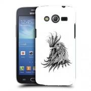 Husa Samsung Galaxy Core 4G LTE G386F Silicon Gel Tpu Model Cocos Abstract