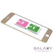 Folija za zastitu ekrana GLASS 3D za Iphone 7 Plus zlatna