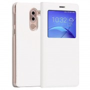 Huawei Honor 6x View Flip Case - White