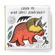 WEE GALLERY Livre de bain à colorier - Dinosaures