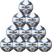 molten Fußballpaket (10 Stück) F5V2500 - weiß/blau/silber   5