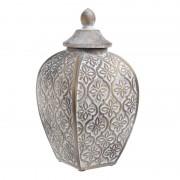 Sticla Copper-Silver 14x14x27