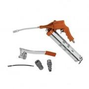 Ingrassatore/Pistola ingrassatrice/Pompa grasso combinata ad aria compressa/pneumatica e manuale/a leva 500ml