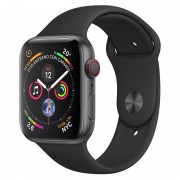 Apple Watch Series 4 GPS + Cellular 40mm Alumínio Cinzento Sideral com Bracelete Desportiva Preta