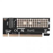 Occitop PCI-E M.2NVMe SSD a PCI-e 3.016x M llave adaptador de puerto tarjeta de expansión