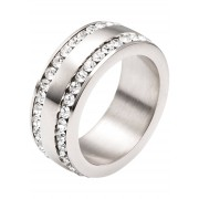 bpc bonprix collection Smycken: Dam Ring med strass i silver - bpc collection