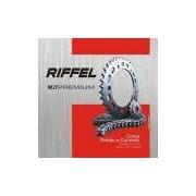Kit Relação Honda Cg Titan Fan 125 09 Riffel Rf70893