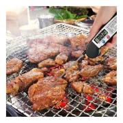 Eh TS-89-G Termómetro Digital Carne Temperatura De Los Alimentos Cocina Cocina Horno Herramientas-Negro
