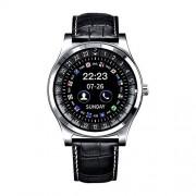 ZXOIHH Reloj Deportivo Inteligente, monitorización del Ritmo cardíaco, rastreador de Actividad física, Reloj Impermeable con función Bluetooth