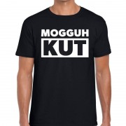 Bellatio Decorations Mogguh kut festival t-shirt zwart heren