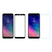 Стъклен протектор за Samsung Galaxy A6 2018 (Темперирано закалено стъкло) 'Full Screen с пълно сцепление'