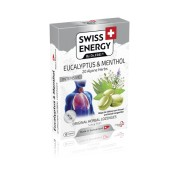 Swiss Energy Pastile pentru Gat cu Eucalipt si Mentol + 20 Ierburi Alpine