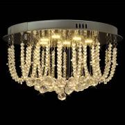 vidaXL Lustră candelabru cu cristale și LED-uri, diametru 45 cm