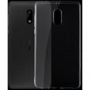 Para Nokia 6 0,75 Ultra Delgada De TPU Transparente Estuche Protector (transparente)