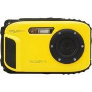 Aparat Foto Compact AquaPix W1627 Waterproof 16MPx Dustproof Shockproof Afisare Data Ocean Yellow