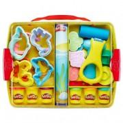 Hasbro Play-Doh - Maletín Crea, Aprende y Guarda