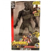 Black Panther Super Hero Action Figure Toy with Speech Sound for Kids (12 inch) (Black Panther)