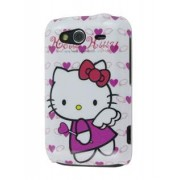 HTC Wildfire S Hello Kitty Back Case - HTC Hard Case (White/Pink)