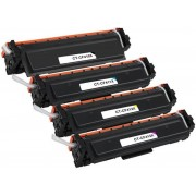 Merkloos – Inktcartridge / Alternatief voor de HP CF410X CF411X CF412X CF413X 410X voor HP LaserJet Pro M452dw M452nw M452dn MFP M377dw M477fnw M477fdn M477fdw, 4 Pack