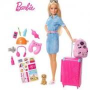 Игрален комплект Barbie - Барби на път, 1710104