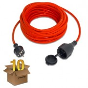 Kaliteli Uzatma Kablosu 15 m / 230 V / 1,5 mm² (10'lu Paket)