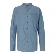 Tommy Jeans Modern Fit Freizeithemd in Denimoptik