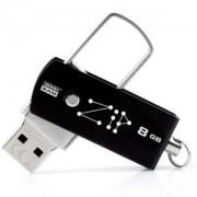 Флаш памет с 8GB GOODRAM ZIP USB2.0 (PD8GH2GRZIKR9), SMC00295