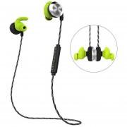 Audífonos Bluetooth Manos Libres Inalámbricos, U2 IPX7 Impermeable Auricular Audifonos Bluetooth Manos Libres Inalámbrico Con Micrófono Magnético Sweatband (verde)